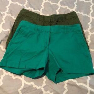 LOFT shorts.